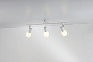 LED Moderne Deckenleuchte, Farbe weiß, Ø 8 cm
