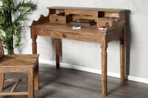 Sekretär, Schreibtisch aus Massivholz