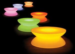 Lounge Tisch LED Pro von Moree
