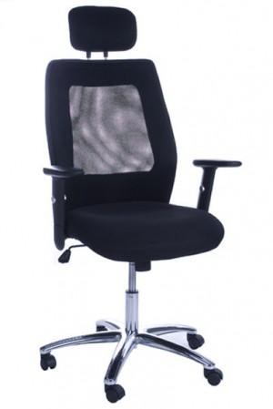 Design Bürostuhl in schwarz modern