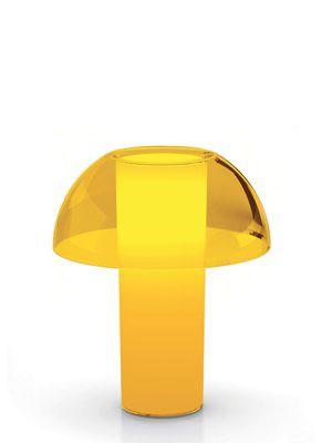 Design Tischleuchte, Tischlampe aus Polycarbonat,  Ø 25 cm