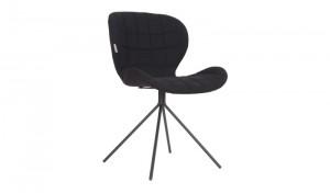 Stuhl schwarz, Bürostuhl schwarz, Konferenzstuhl schwarz