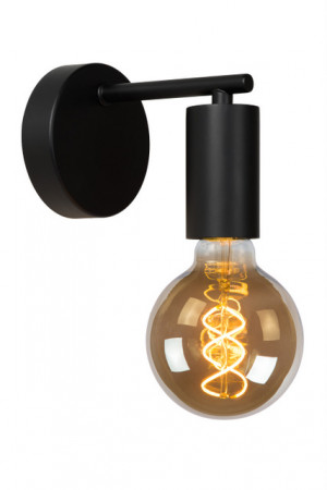 Wandlampe schwarz, 1xE27