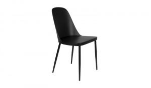 Stuhl schwarz, Stuhlbeine schwarz