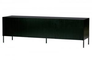 Fernsehschrank schwarz, TV Schrank schwarz, Breite 180 cm