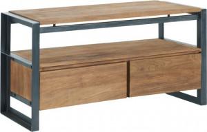 Lowboard mit Schubladen Industriedesign, Fernsehregal Industriedesign, TV Regal Industriedesign, Breite 140 cm