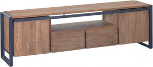Lowboard  Industriedesign, Fernsehregal Industriedesign, TV Regal Industriedesign, Breite 180 cm
