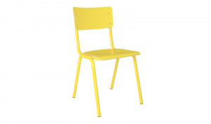 Metall Stuhl gelb, Stuhl gelb Metall, Objekt Stuhl gelb