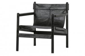 Ledersessel schwarz, Sessel schwarz