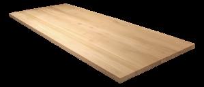 Tischplatte Eiche massiv, massive Holztischplatte, Breite 200 cm
