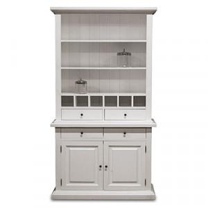 Weinschrank weiß Landhaus, Wohnzimmerschrank  weiß, Bücherschrank weiß, Breite 110 cm