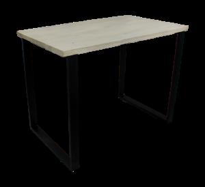 Bartisch Industriedesign, Tisch Metall Holz, Höhe 106 cm