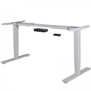 Tischgestell elektrisch höhenverstellbar, höhenverstellbares Tischgestell weiß, Tisch höhenverstellbar 63 – 128 cm