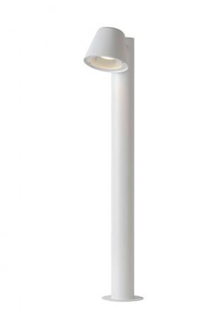 LED Stehleuchte, LED Außenleuchte weiß, LED Außenstehlampe weiß, Outdoor-Leuchte weiß