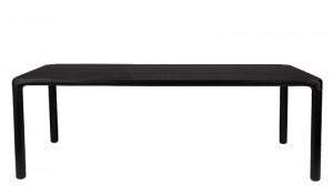 Tisch schwarz, Esstisch Farbe Naturholz, Breite 180 cm