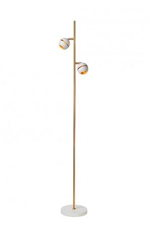 Stehlampe / Stehleuchte weiß, Höhe 155, LED