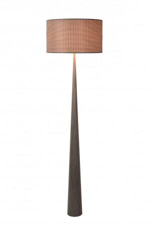 Stehleuchte / Stehlampe Holz, Höhe 177 cm
