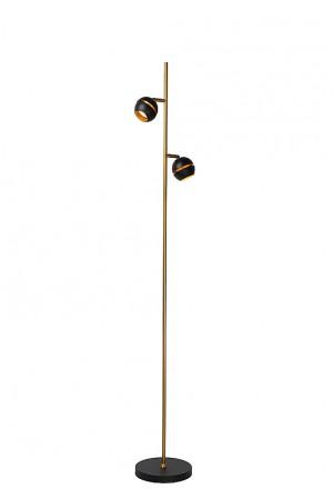 Stehlampe / Stehleuchte schwarz, Höhe 155, LED