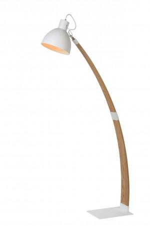 Stehleuchte / Stehlampe weiß, Höhe 143 cm