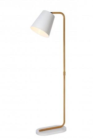 Stehleuchte / Stehlampe weiß, Höhe 140 cm