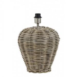 Lampenfuß Tischlampe Rattan, Tischleuchte Rattan,  Durchmesser 30 cm